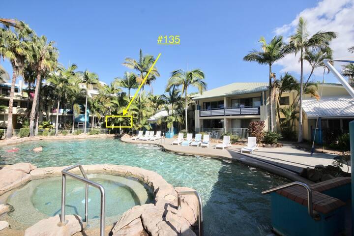 Diamond Beach Resort, Ground Floor Deluxe #135