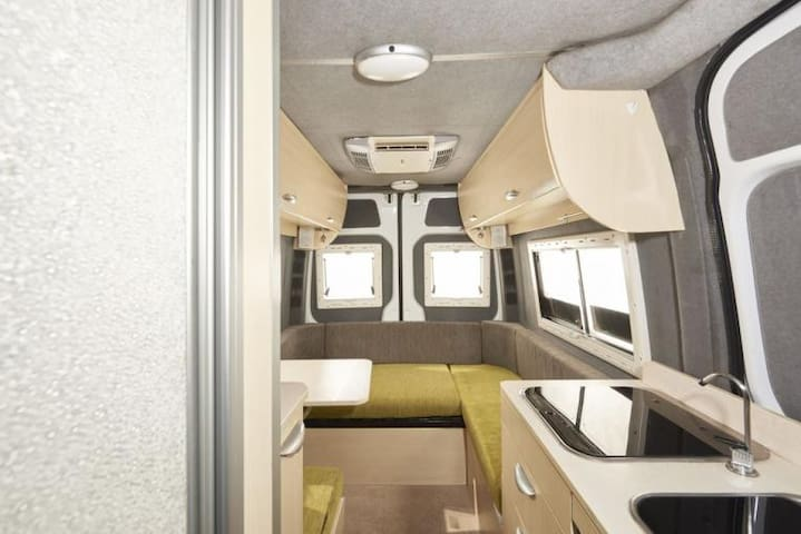 HAFH 2 Berth Camper Van