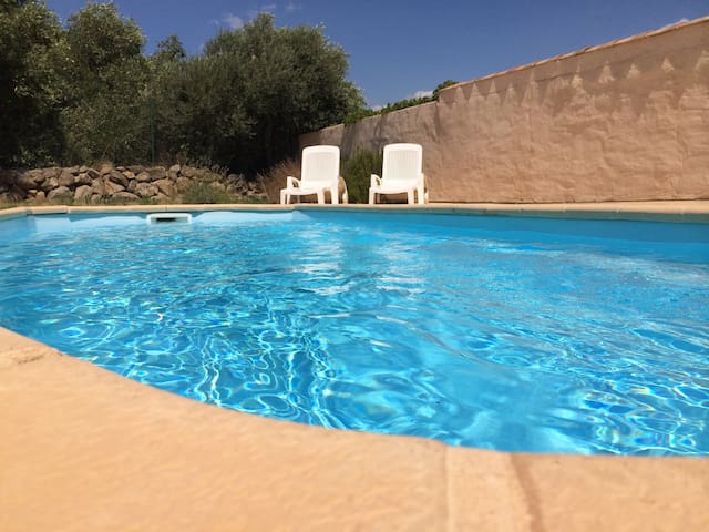 Languedoc home with private pool nr Canal Midi