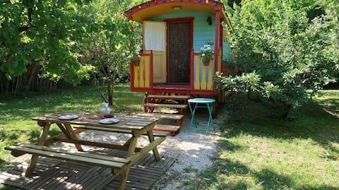 Bohême  caravan/roulotte Mas la Pauline
