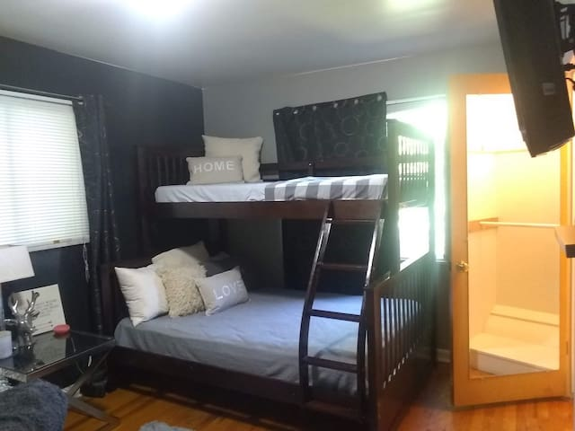 TOP bunk - Twin bed *shared coed room*