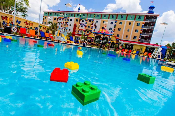 Fun Filled Vacation!Pool, Play Areas, LEGOLAND