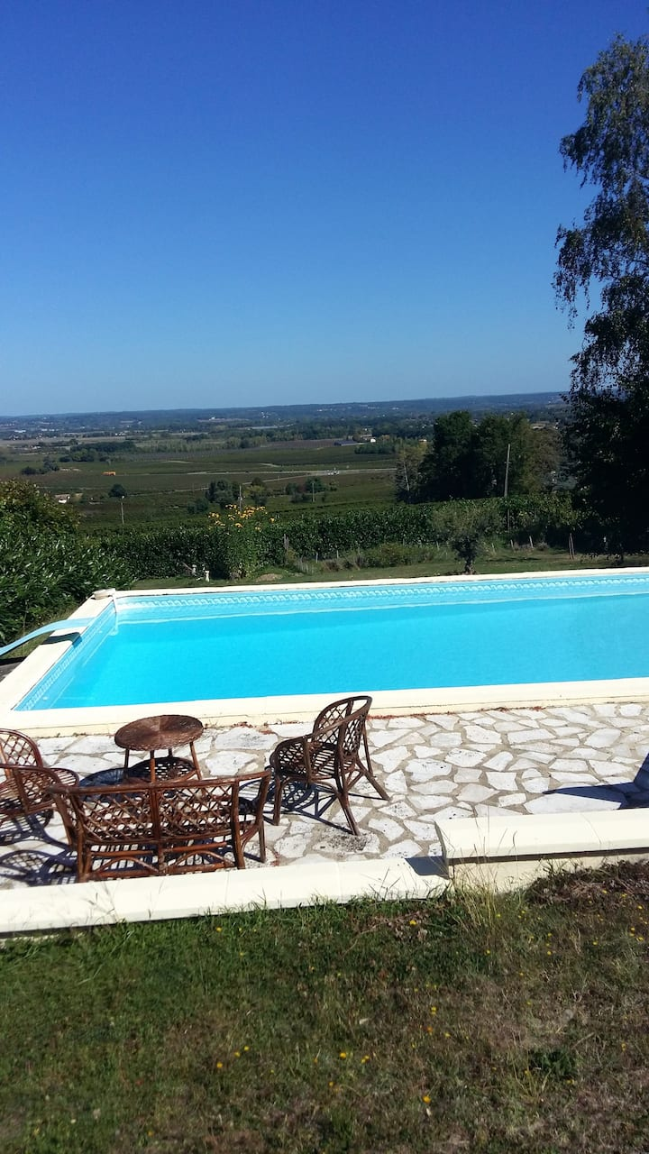 Villa with 4 bedrooms in Monbazillac, with private pool, furnished garden and WiFi