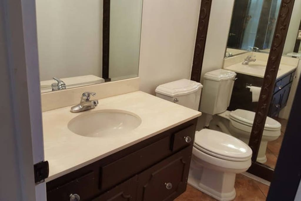 2nd private bathroom with shower