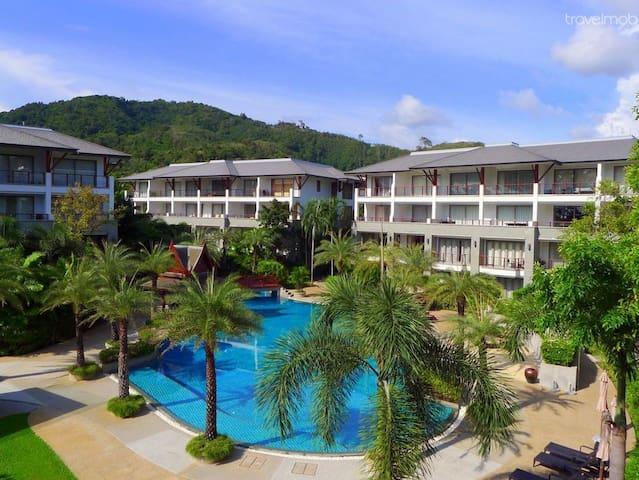 Luxury 2 bedrooms apartments at Naithon beach - Tambon Choeng Thale - Wohnung