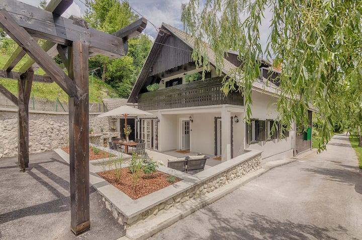 Lake Bohinj River House