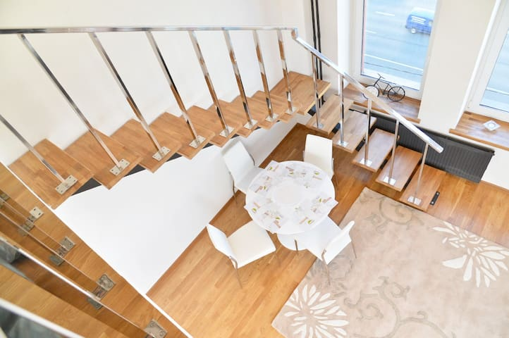 2floor apartments 2x уровневые апартаменты - Moskva - Serviced apartment