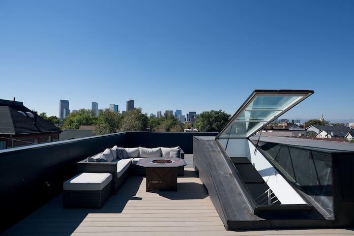 RiNo's #1 Retreat! 3-Story Home w Roof Deck: 420ok