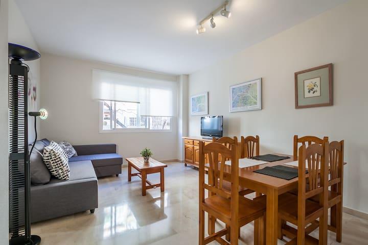 Apartamento cerca del Alcázar con garaje privado