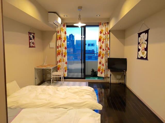 MAX4P can stay/2min Ginza/4min Tsukiji/high floor
