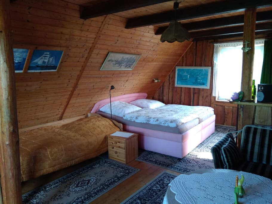 OG-Schlaf und Wohnbereich
