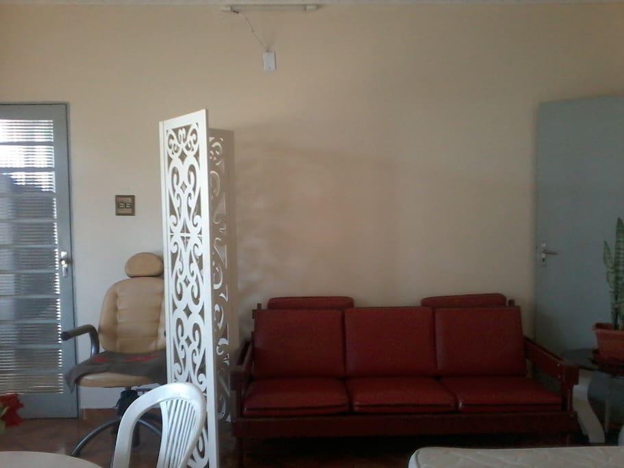 banheiro e cozinha compartilhada