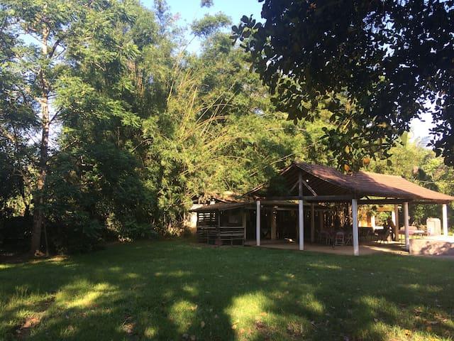 Chácara no paraíso ecológico de Tinguá - Nova Iguaçu - Mökki