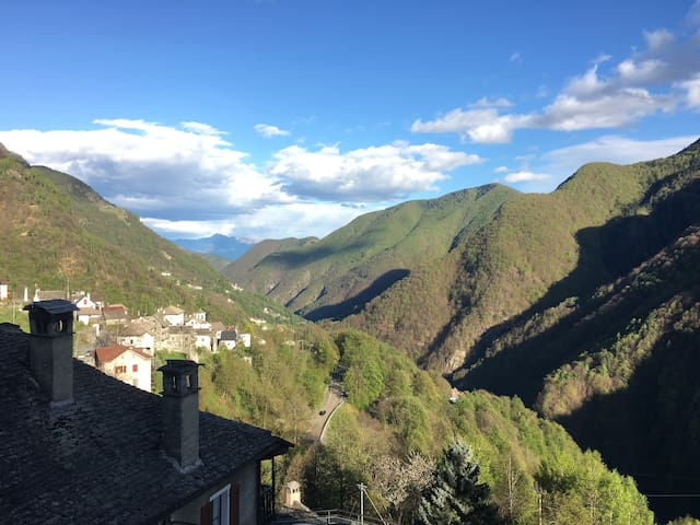Relax in Valle Onsernone - Onsernone - Apartament