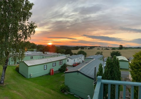 Ribble valley escape, 2 bed static caravan with views that take your breath away
