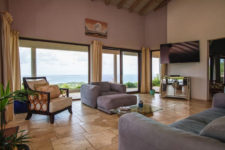 Designer Home Incredible View - Saint Martin - Vila
