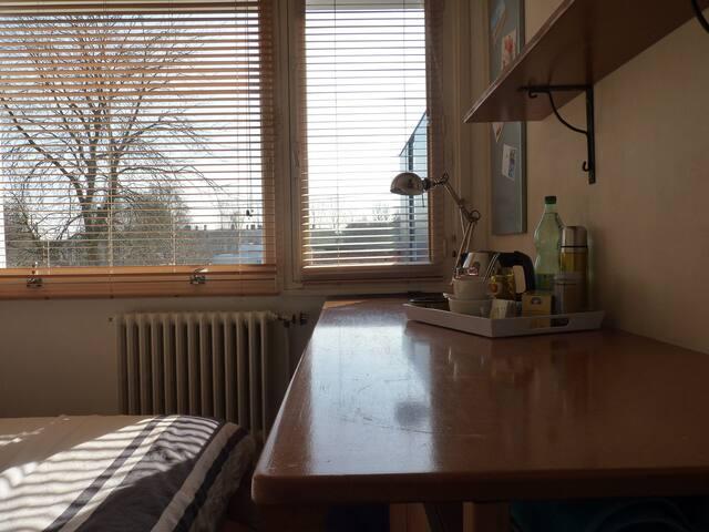 espace plan de travail ou choix petit déjeuner