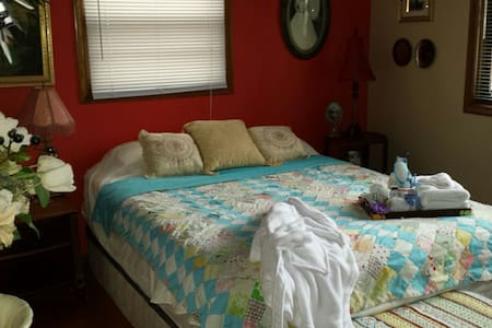 Cozy guest room in a family home. - Mounds View - Talo