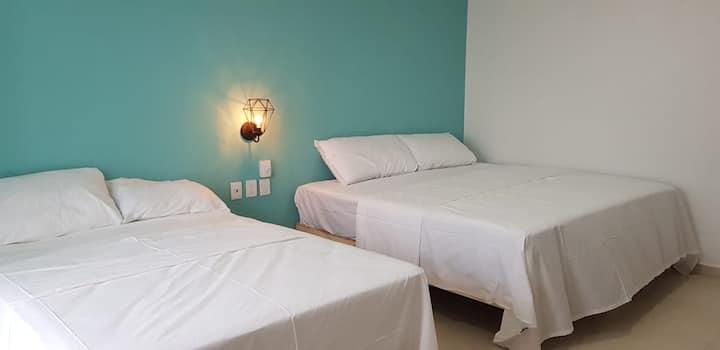 Hotel habitación triple