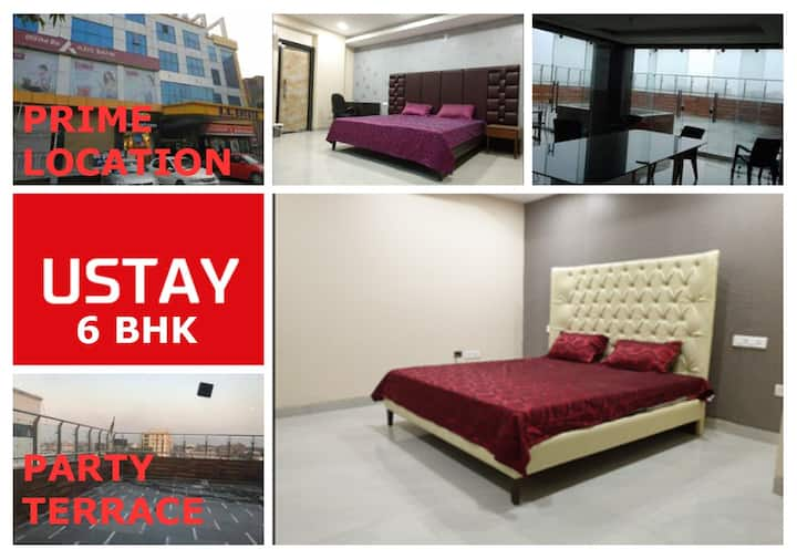 USTAY 5 BHK - Accomodation Only