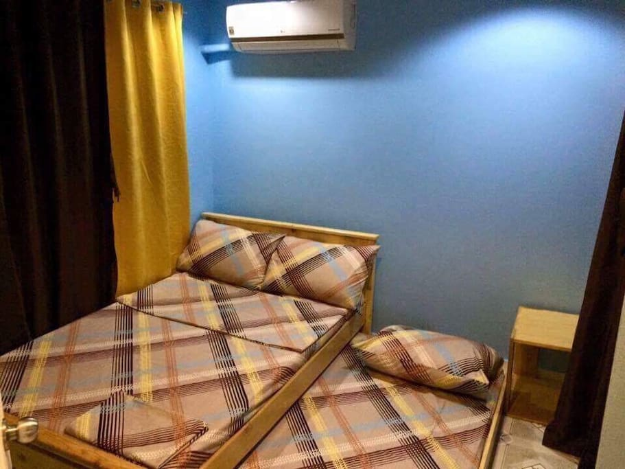Room 2                                                                                                     - good for 3 pax                                                                                     - with split- type aircon