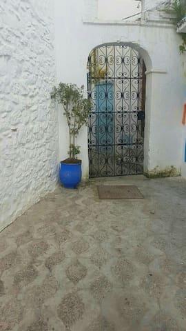 Riad bleu ocean ancienne medina appartement.