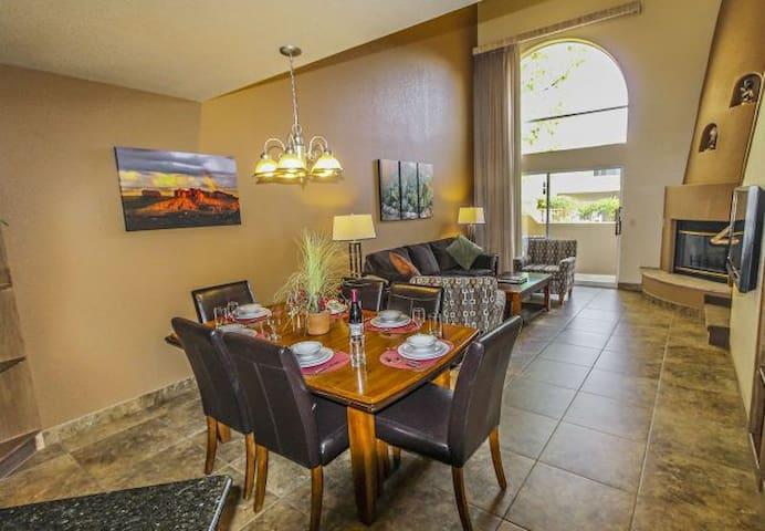 Sedona Springs Resort - One Bedroom + Loft Condo