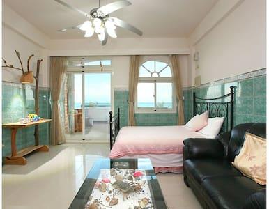 海天一色,盡收眼簾~最美的景色留給最好的您!---宜人海灣山海景民宿- - Chenggong Township