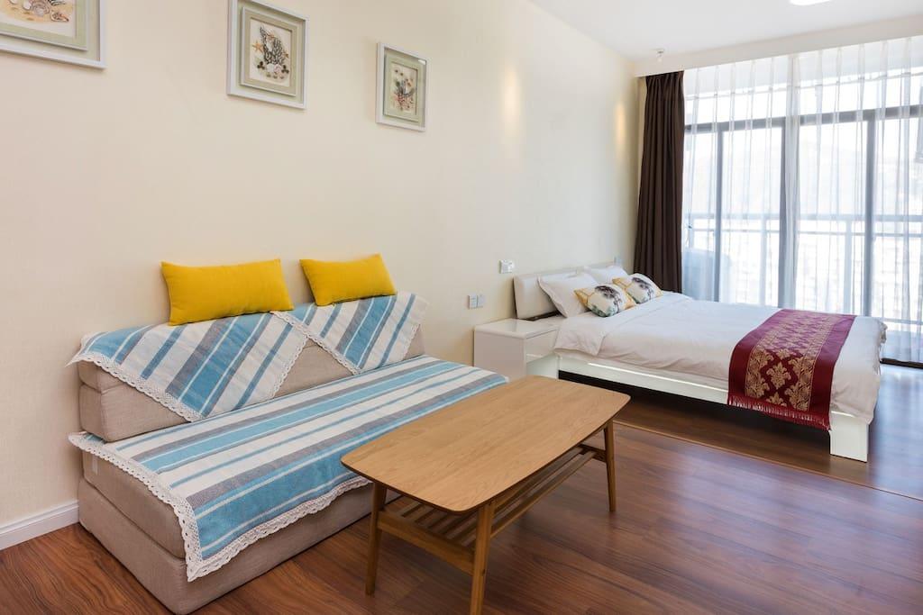 房间干净、舒适、整洁