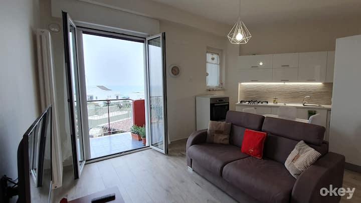Seafront Apartment – Airport Bari Palese