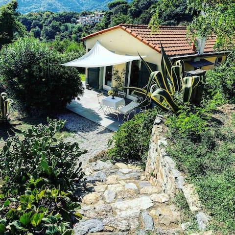 Il Vicchietto a Loft en un jardín con vista panorámica