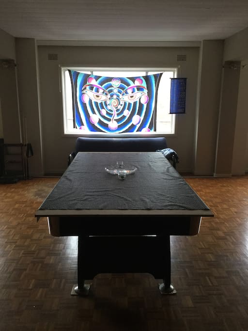 Pool Table converts to large table.