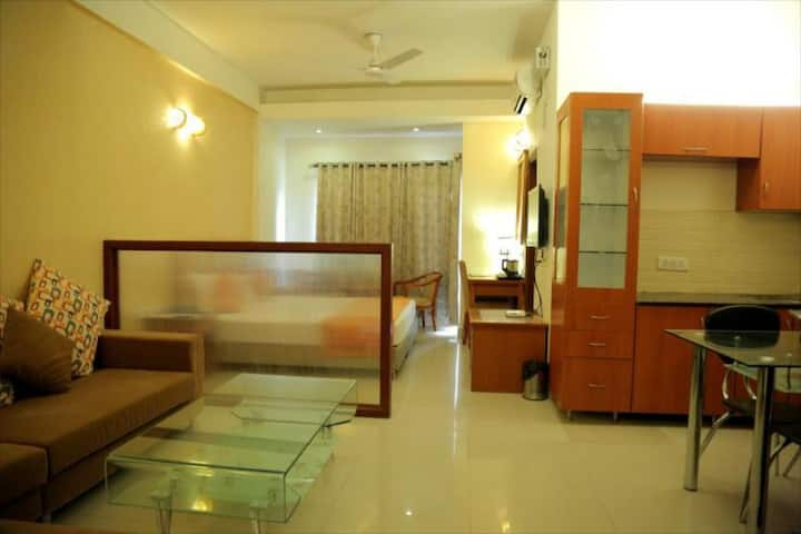 Luxury flat with hotel Ammenties