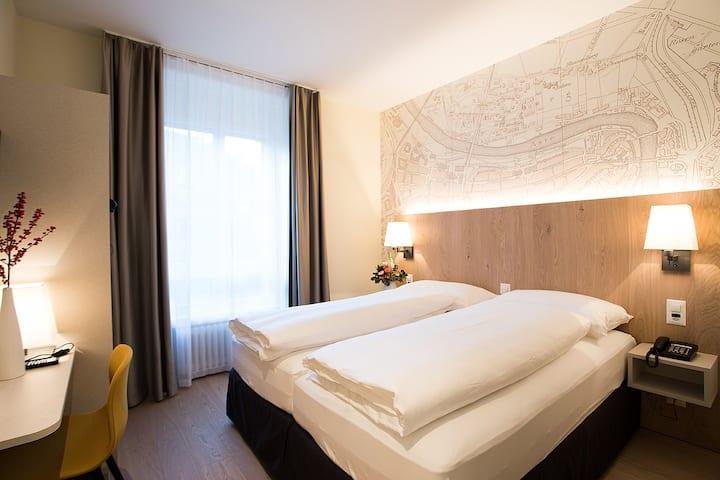Schlafen mitten in Bern