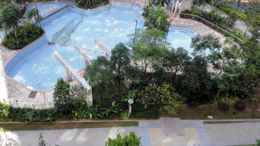 高尔夫球场附近私家花园单独房间 - Shenzhen - Haus