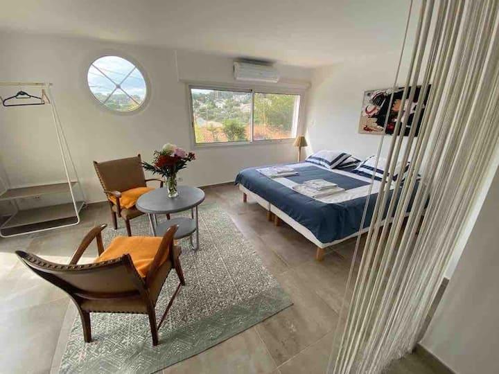 Villa Loutissol : chambres Girelle + Bonite