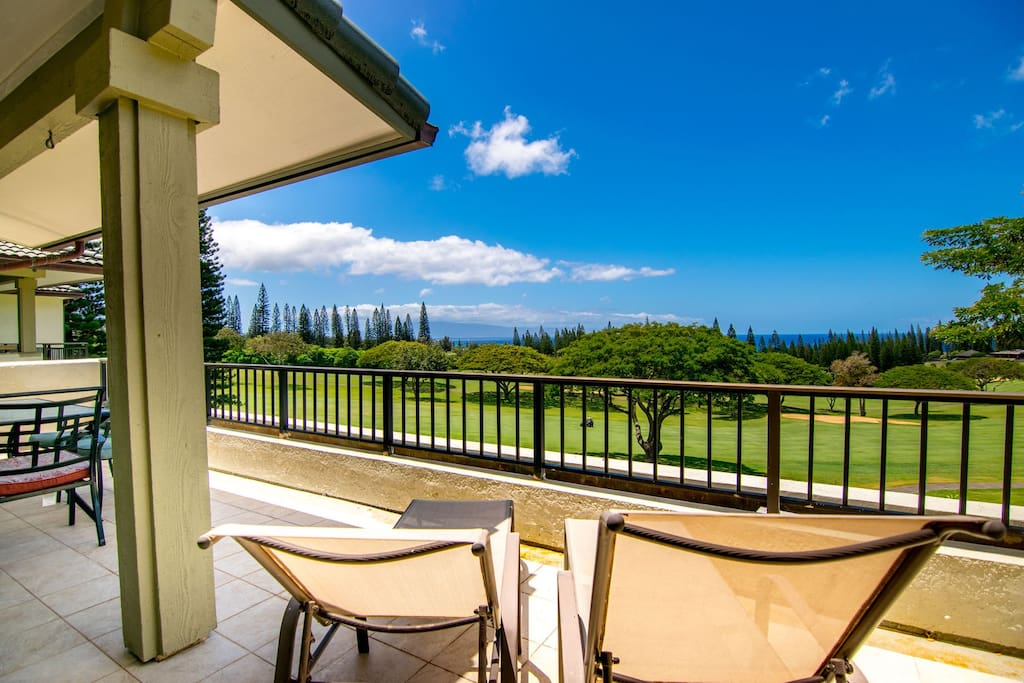 Large private lanai