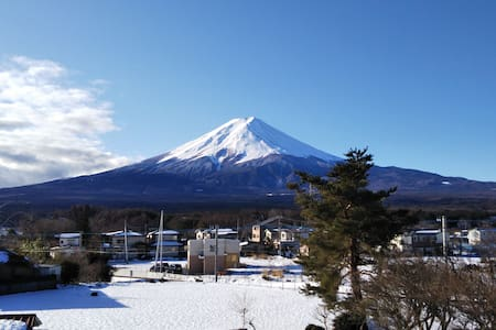 KAINOSATO 富士山絶景!河口湖駅から徒歩8分