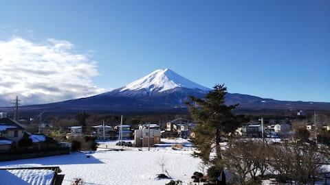 Kainosato Fuji Mountain View! 8 Gehminuten vom Bahnhof Kawaguchiko entfernt