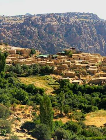 Wadi Dana eco camp