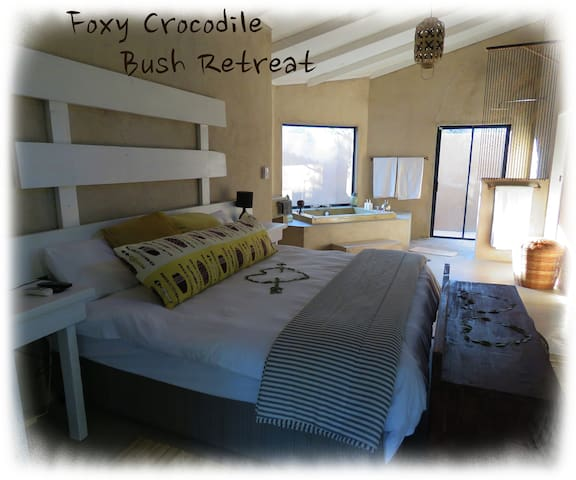 Foxy Crocodile Bush Retreat - Marloth Park - Byt