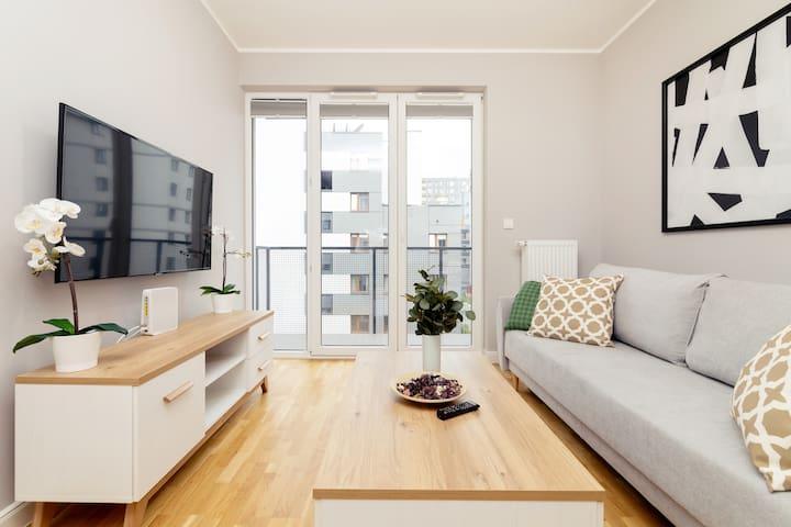Business Mokotów Park 215 Apartment