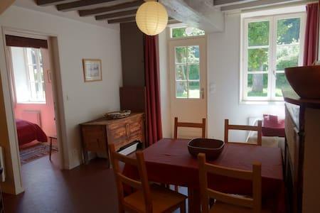 logement de charme au coeur de la forêt - Vieux-Moulin - Haus