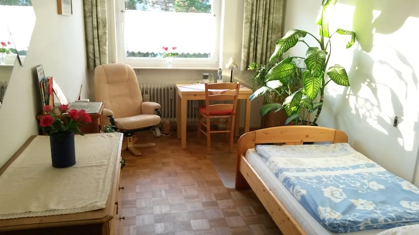 Room near city-center/train station