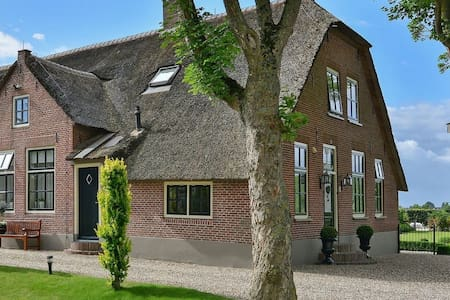 Magnificient farmhouse in central Holland (2-6 P)