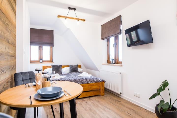 Stara Decha- nowy apartament z zabytkowym budynku