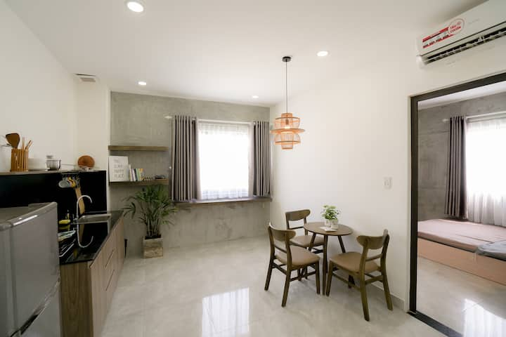 ★1 BR APT CENTRAL★DOWNTOWN⚡5 MINS TO HAN MARKET⚡