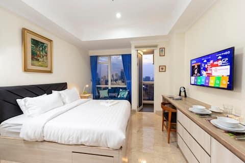 Cozy Studio Apartment Menteng Park Central Jakarta