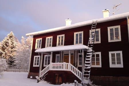 Unik Hälsingegård i Järvsö