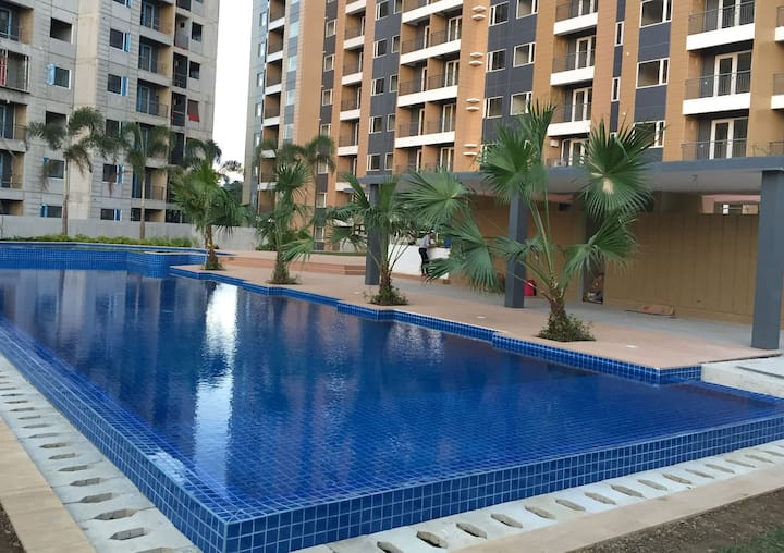 1BR wd Balcony - The Hive Residences Taytay